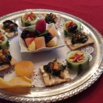 Cliffside Inn afternoon reception tray